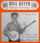 Bill Keith Banjo Strings (Bronze wound fourth)