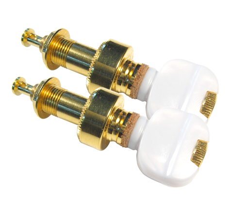 Gold Plated Tuning Pegs (Set of 2)